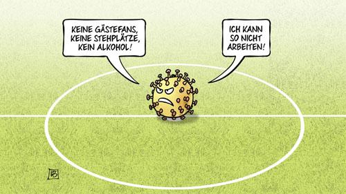 Corona - Schutzkonzept für die Bundesliga-Saison 2020/2021