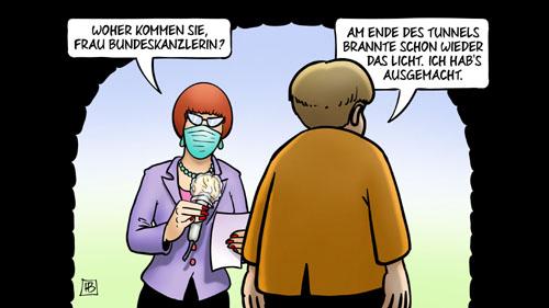 Deutschland: Das Licht am Ende des Corona-Tunnels