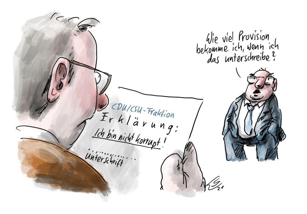 Georg Nüsslein - Bestechung beim Maskenkauf