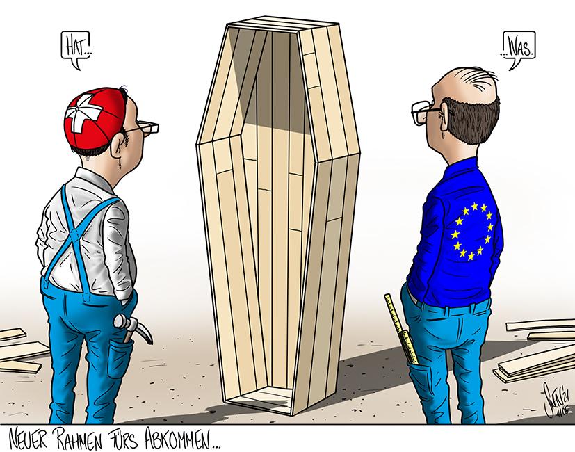 Das Rahmenabkommen zwischen der Schweiz und der EU ist gestorben