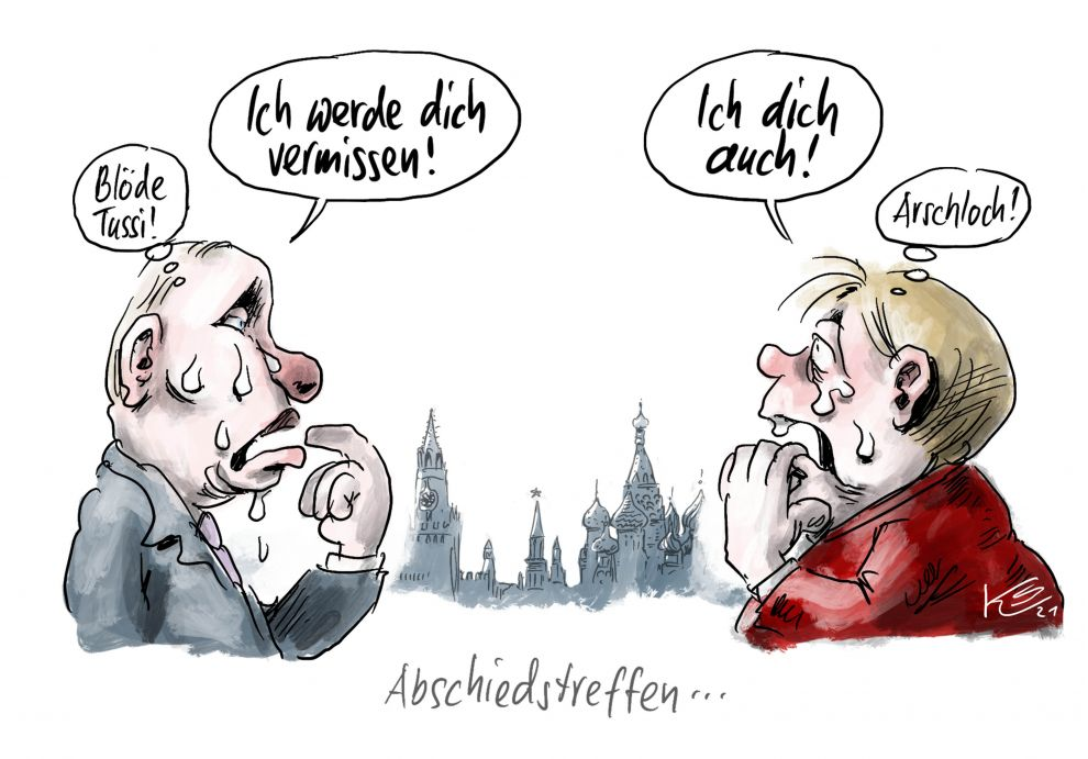 Angela Merkel tritt ab