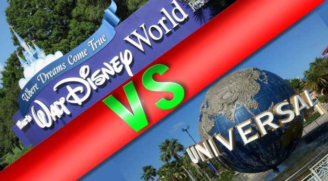 Walt Disney World vs. Universal Studios – Die Schlacht von Orlando 2017