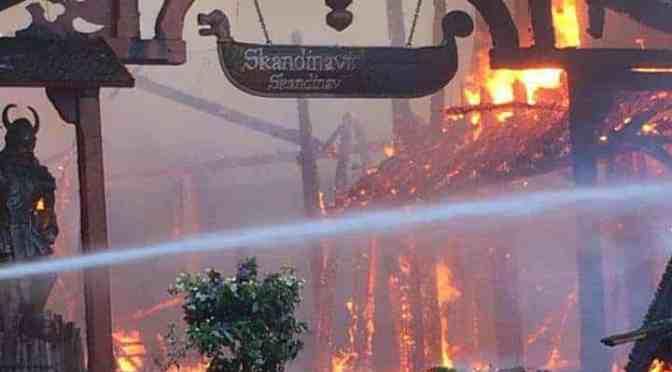 Europa-Park Grossbrand: Schaden in 2-stelliger Millionen Höhe