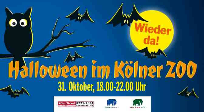 Halloween im Kölner Zoo
