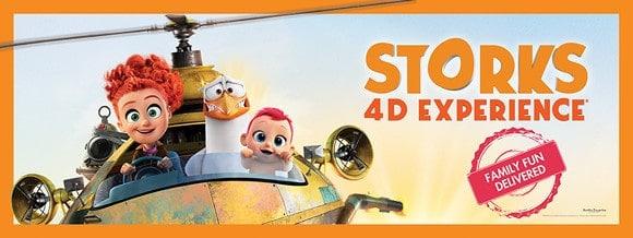 "Neuer 4D-Film im Cinema Fantastico: ""Störche 4D Experience®"""