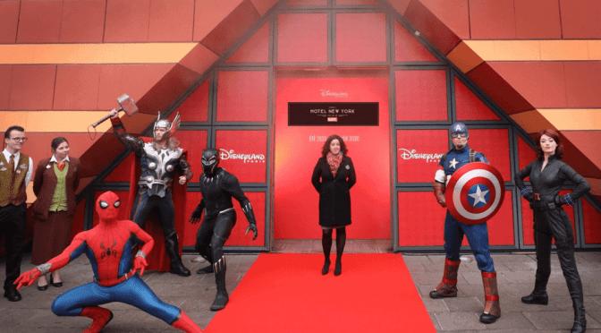 Disney´s Hotel New York – Die Kunst von Marvel, so wird das Hotel 2020 eröffnen