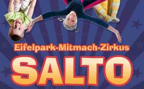 Mitmach Zirkus Salto, neu im Eifelpark 2019