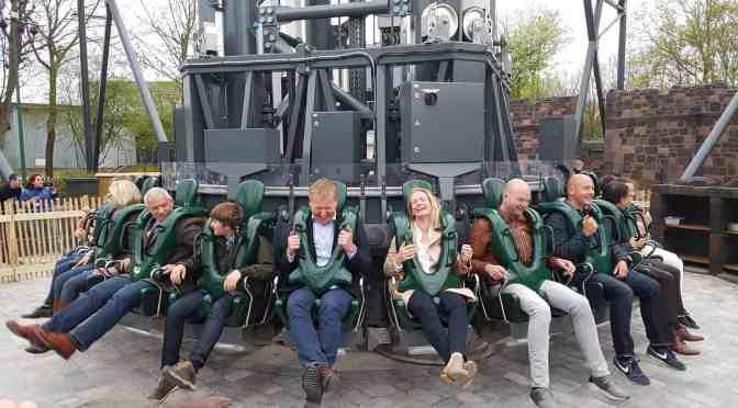 """Das war die Eröffnung von """"Highlander"""" im Hansa- Park!"""