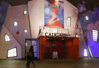 """Caligari Halle"" im Filmpark Babelsberg wird ab 30. November zur Eisbahn!"