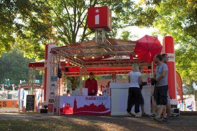 Hallesaale Lounge auf dem Laternenfest - Copyright: Maximilian Nowak
