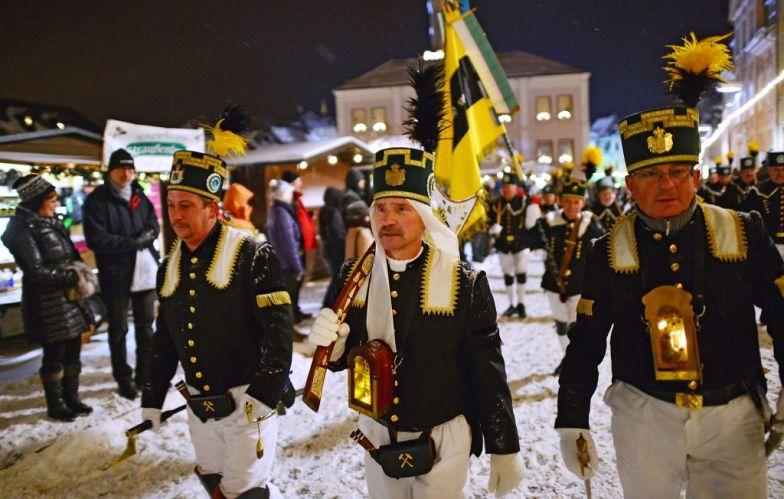 Bergparade zum Lichtlfest in Schneeberg - Foto: TVE/Wolfgang Schmidt
