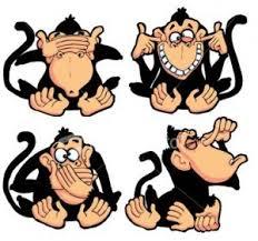 4 wise monkeys