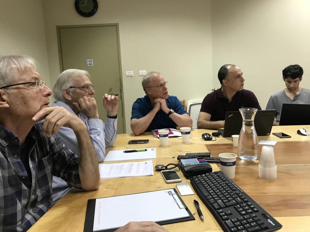 FMS Leadership back in Israel