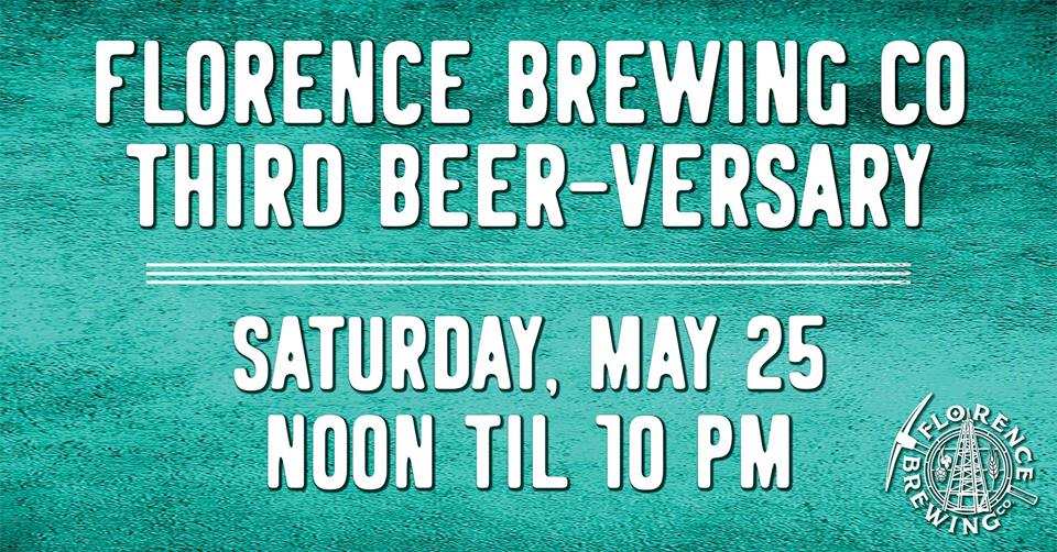 Florence Brewing Company's Third Beer-Versary