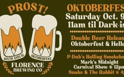 6th Annual Oktoberfest @ FBC