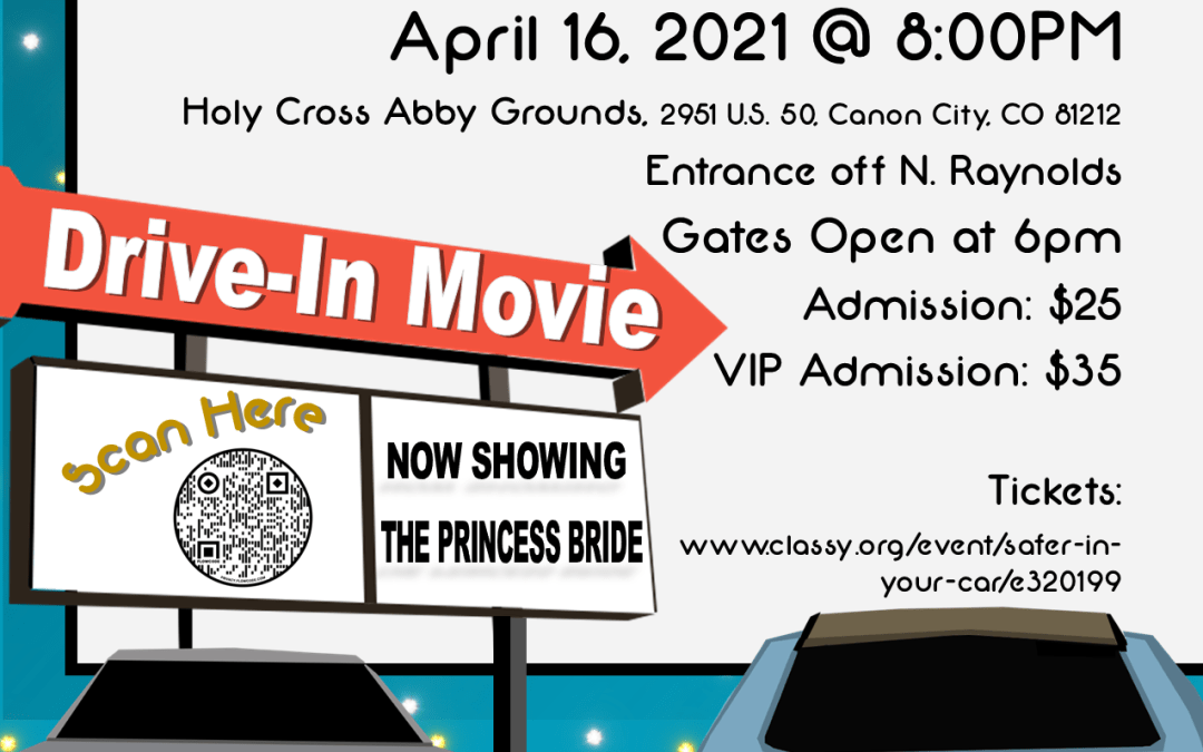 Safer In Your Car Drive-In Movie Fundraiser