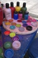 Art supplies for community celebration