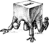 asi te escalvizan cuando votas