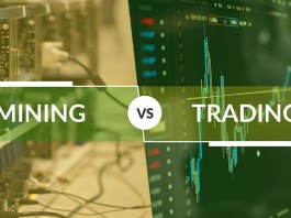 mining vs trading