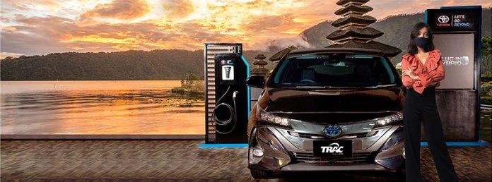 TRAC To Go Sewa Mobil Listrik Bali