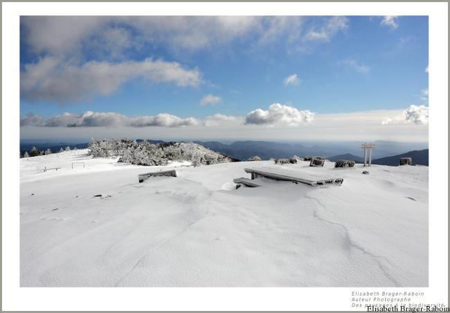 Tourmente sur le Mont Aigoual