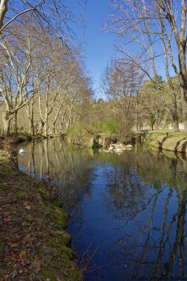 Vallée de l'Eure et ses reflets