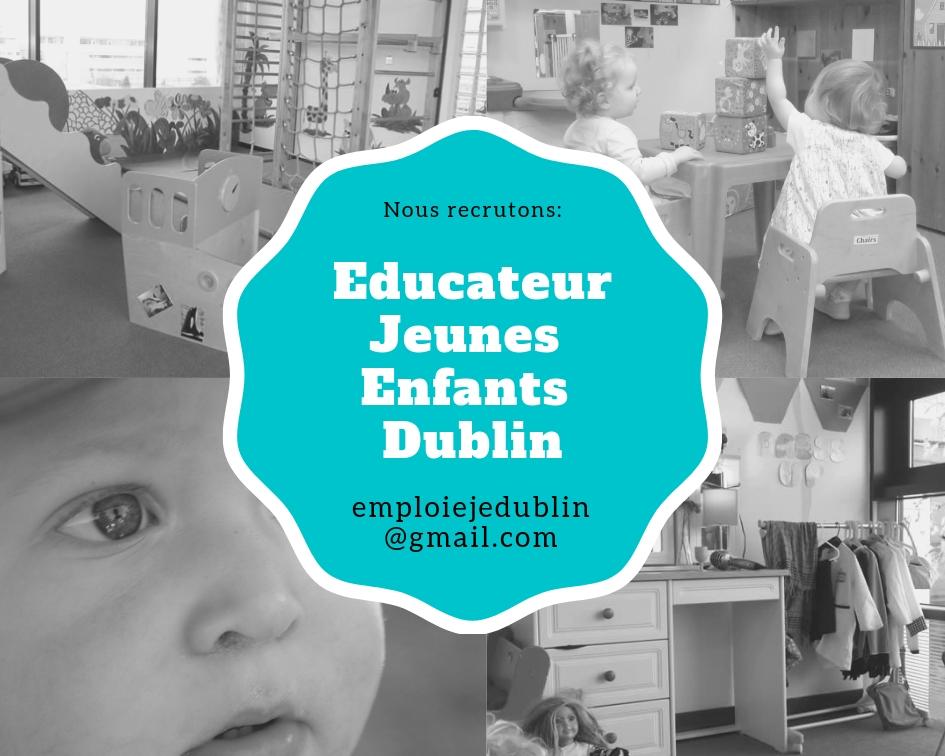 Travailler à Dublin dans la petite enfance