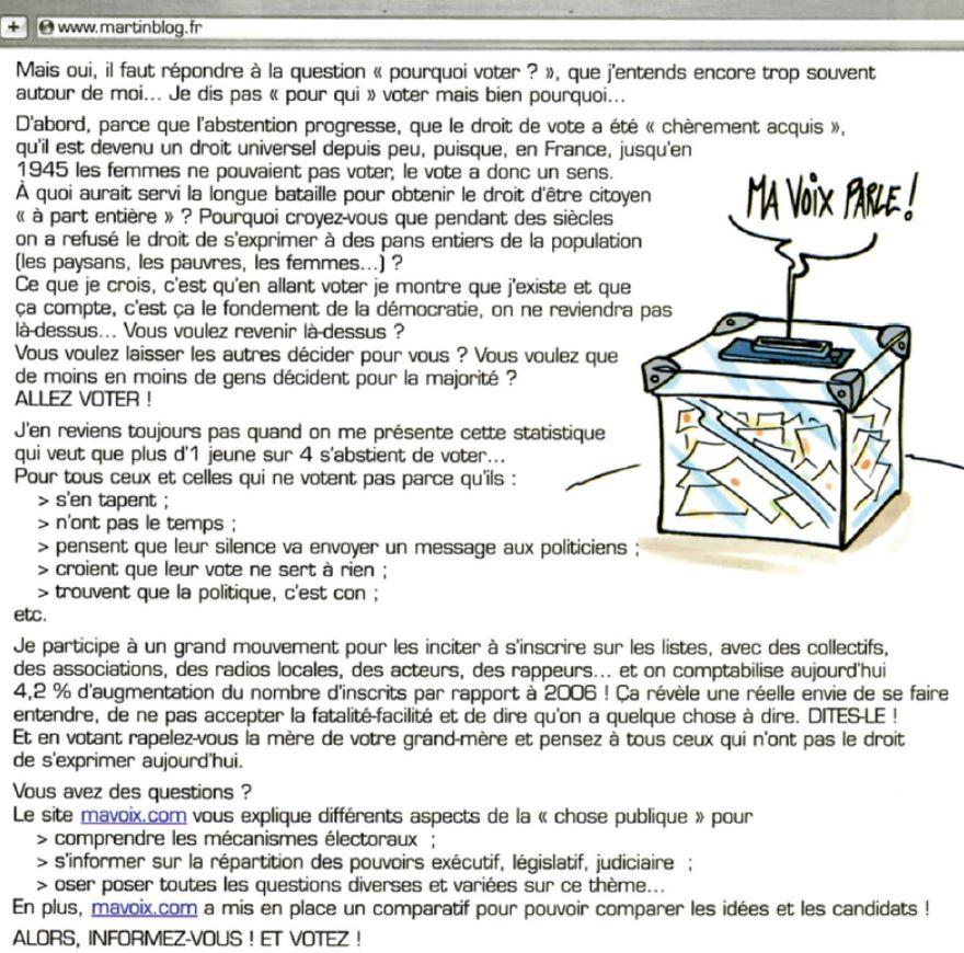 Systeme electoral