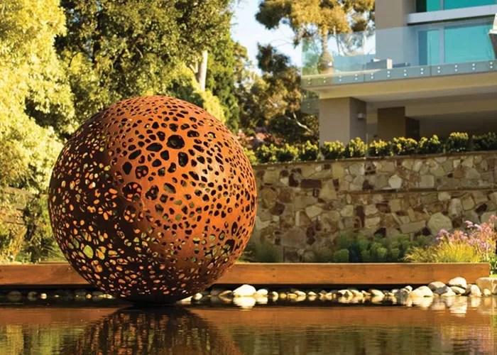 qualite sculpture exterieure en metal sculpture peinte en metal usine de la chine