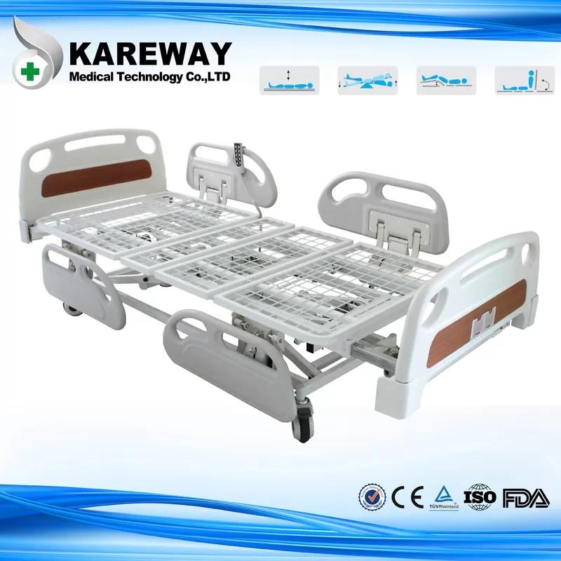 chine fonctions du lit cinq de patient hospitalise d extension de longueur avec le matelas