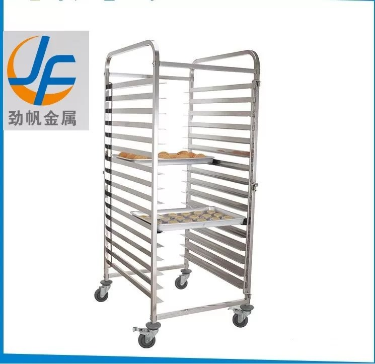 chariot durable a support de boulangerie chariot a boulangerie d acier inoxydable pour le four rotatoire