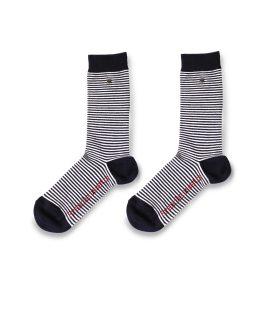 chaussettes avec bouton pression