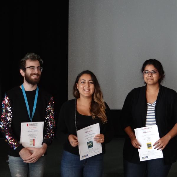Antoine Hoste, Célia Achaibou, et Kariyawasam Kalani