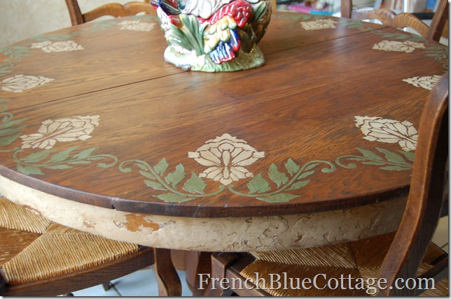 custom plaster table