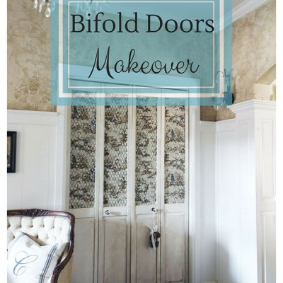 Prettifying My Plain Bifold Doors