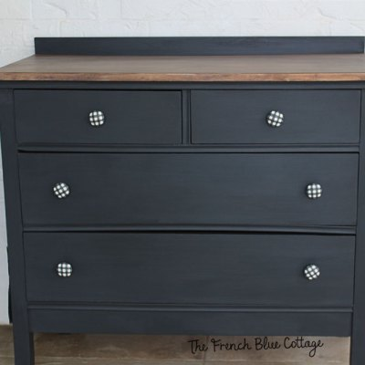 A Cute Little Dresser Makeover