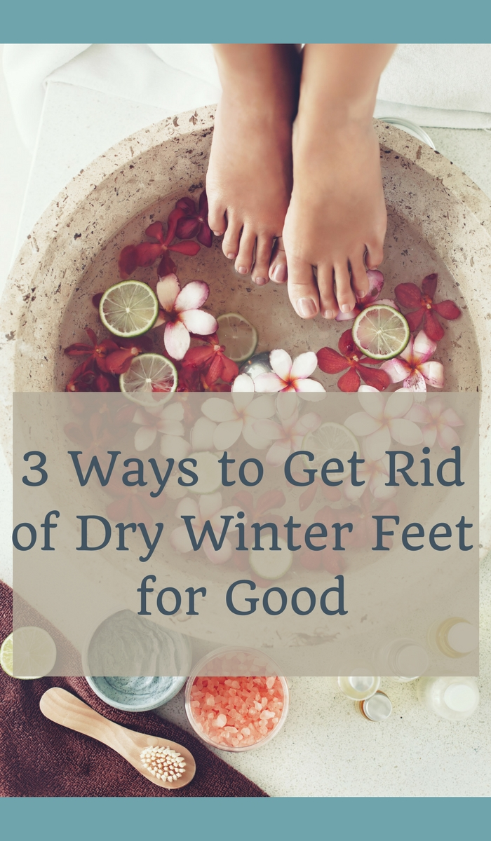 Three ways to get rid of dry winter feet for good