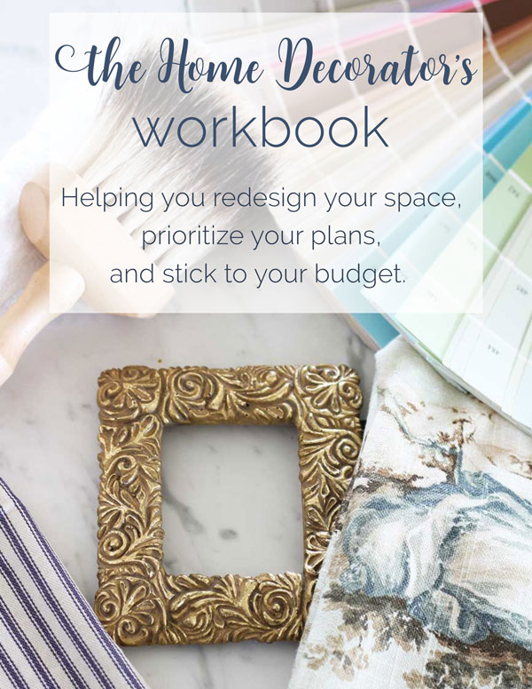 free home decorator's workbook planner