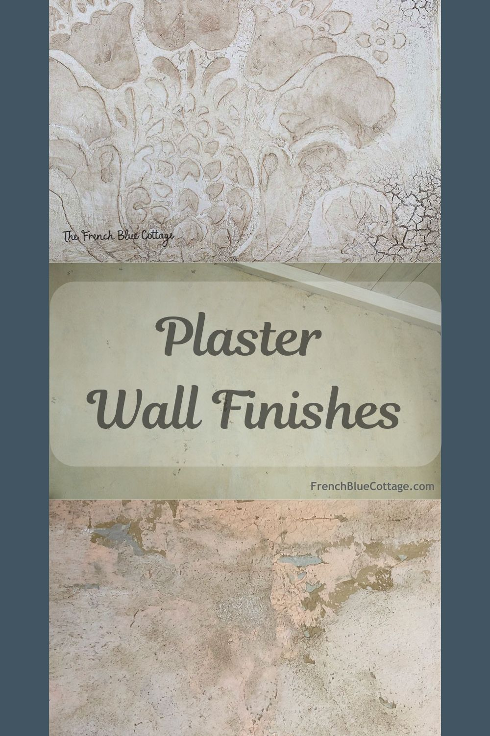 plaster wall finishes pin