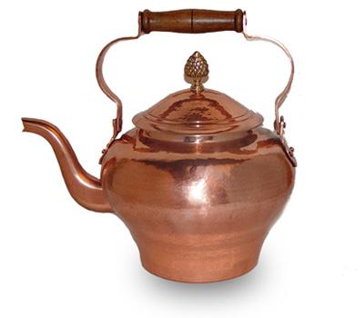 Pierre Vergnes Copper Tea Coffee Pot @ 5.5 Quarts