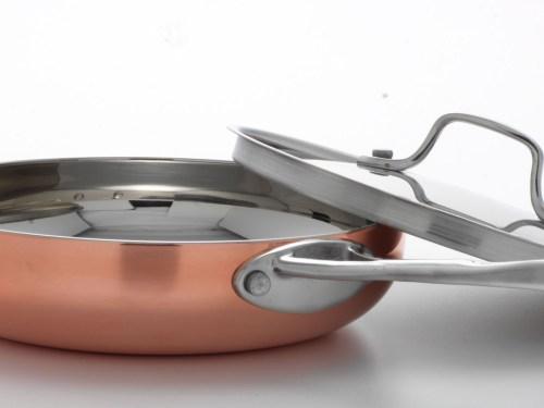20cm or 8 frying pan cw SS lid