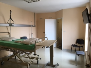 A Private Room at the Clinic