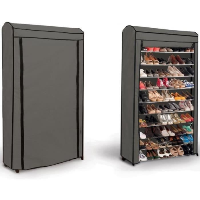 armoire chaussures 50 paires bright