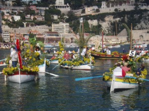 villefranche flower battle
