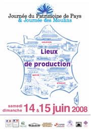 Jours Patrimoine et Moulins poster