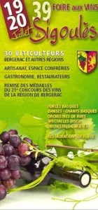 sigoules wine fair poster