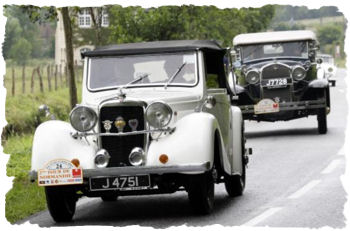 Tour de Normandie - classic car rally