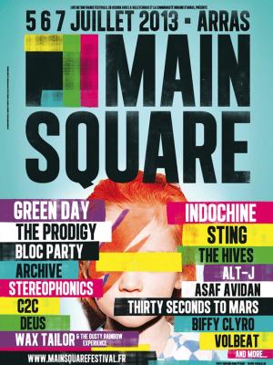 main square festival poster