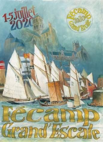Poster for Fecamp Maritime Festival