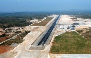 Brive/Souillac airport under construction